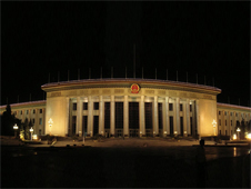 Great-Hall-of-the-People is the seat of the Chinese Parliament