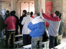 Algerian authorities are clamping down on Christians and churches
