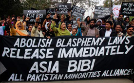 Concerns for Asia Bibi's health