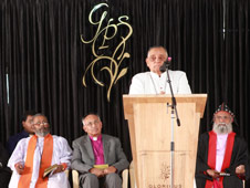 The New Jerusalem in Bangalore is dedicated for Christian Worship, Praise and Meditation