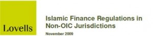 Islamic finance regulations in Non-OIC juridictions