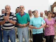 Barnabas Fund is helping to feed Iraqi Christian refugees in Syria