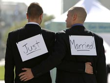 Gay Marriage Just Married