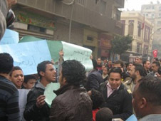 Egyptian Police Prevent Christian Protesters From Reaching Parliament
