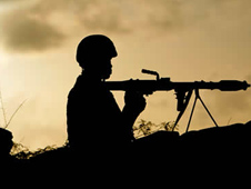 African Union troops are fighting against al-Shabaab in Somalia