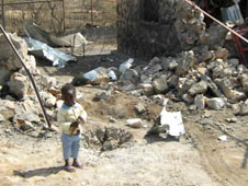 A Bible college in Heiban was destroyed in an earlier bombing