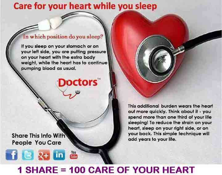 Care for your heart while you sleep