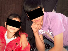 Helma (12) and Nima (17) have been left alone since their parents were detained