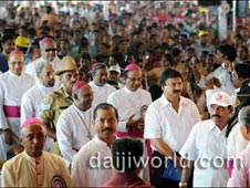 Karnataka Yuvajanostava-2012, held at  Holy Redeemer Church, Belthangady on Sunday, September 2012