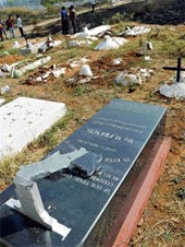 Kandhamal Christian cemetery desecrated