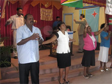 A Day of Prayer event in Guyana