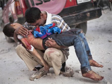 Hundreds have been killed in Syria