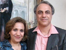 Pastor Farhad Sabokrouh and his wife Shahnaz Jeizan