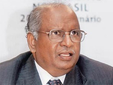 National Human Rights Commission (NHRC) chairman Justice K.G. Balakrishnan