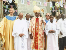 Indian Catholics active in Liberia