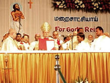 Beatification ceremony at Nagercoil