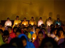 Praying for the victims of Kandhamal violence
