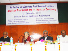 Freedom of expression is fundamental to vibrant democracy