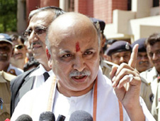 Praveen Togadia caught in the net of hate speeches in Hyderabad