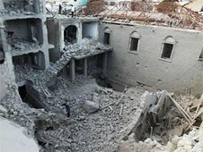 Numerous churches in Syria have been destroyed