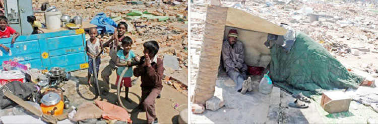 Thousands of Christians, Muslims, Dalits... cold, sick, dying, fleeing homeless