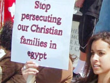 Stop persecuting Christian families in egypt