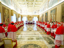 The conclave to elect Pope