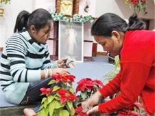 Hindus dedicate St Valentine's Day to the pope