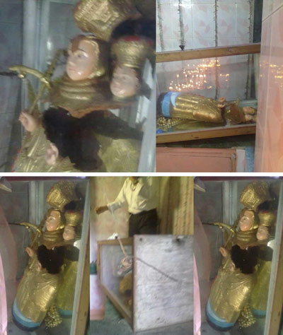 Our Lady of Valankanni Statue Vandalised