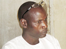 Abdoulaye Douad, one of the two murdered Christians
