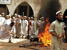 violence led by the Islamists
