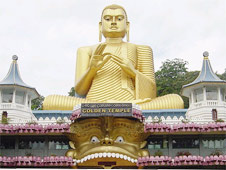 """Buddhism is afforded the """"foremost place"""" in Sri Lanka"""