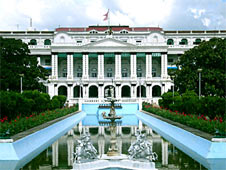 The Singha Durbar is the official seat of the government of Nepal