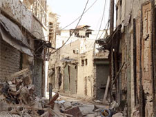 Aleppo has been ravaged by the fighting