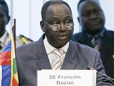 President François Bozizé was ousted by the rebel coup