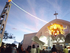 Only 37 percent of Filipino adults attend church every week compared to 64 percent in the early 1990s
