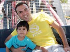 Saeed Abedini and his son