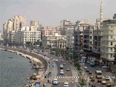 One of the incidents took place in Alexandria