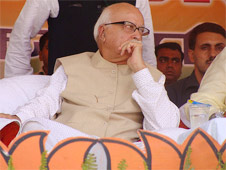 Advani, marginalized