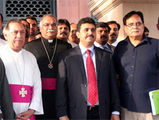 Christian minister in Islamabad