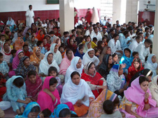 Christian women are extremely vulnerable to attack in Pakistan