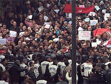"""Tunisia launched the """"Arab Spring"""" in January 2011"""