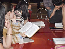 Christian gatherings are frequently raided by the Uzbek authorities