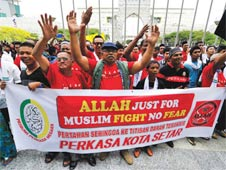 Malaysian court rules use of 'Allah' exclusive to Muslims