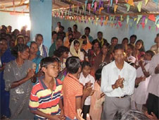 Christian gatherings in India are often targeted by Hindu extremists