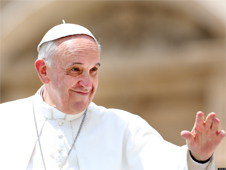 Pope Francis ranked fourth 'most powerful' person in world