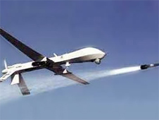 US drone strikes in Pakistan were used by militants to justify a church bombing