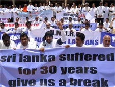 conflict between Sinhalese and Tamil minority