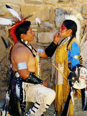 Cherokee Indian youth