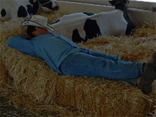 Sleeping Farmer